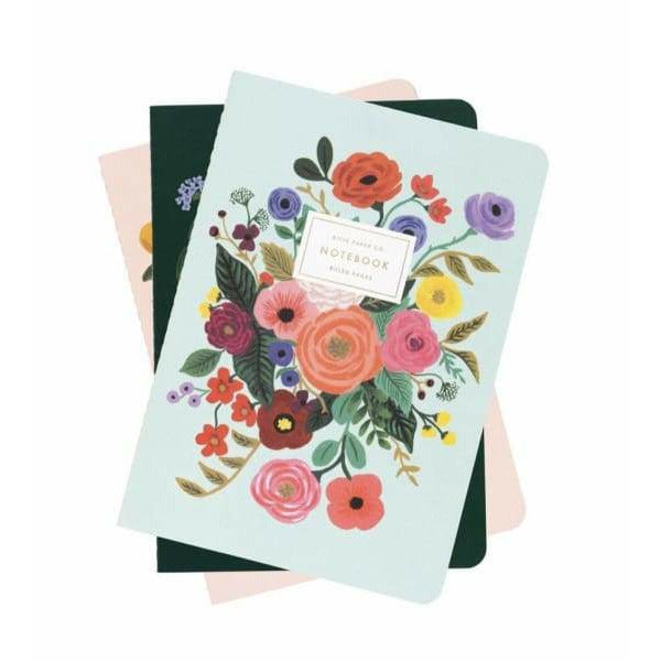 Garden Party Notebooks-set of 3