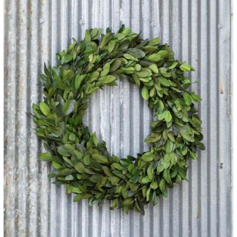 Gathered Laurel Wreath