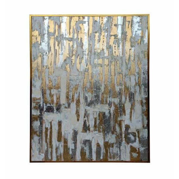 Gold Abstract Canvas