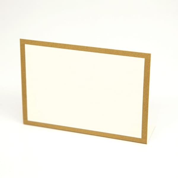 Gold Frame Placecard