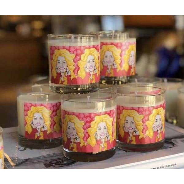 """Hey Doll"" Dolly Parton Candle"