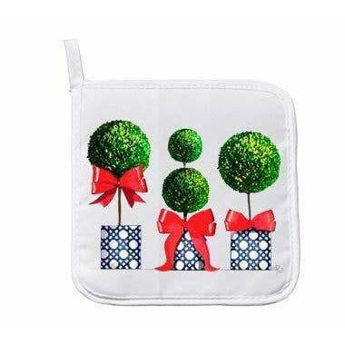 Pot Holder- Boxwoods
