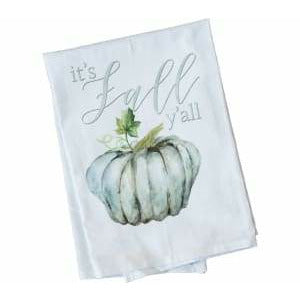 Its Fall Yall Tea Towel