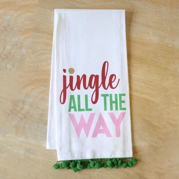 Jingle All The Way Hand Towel