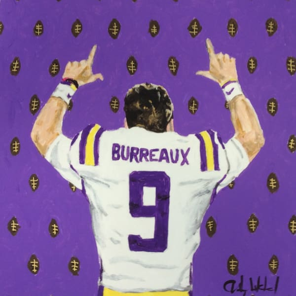 Joe Burreaux Canvas