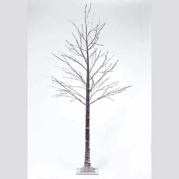 84 Led Lighted Snowy Tree