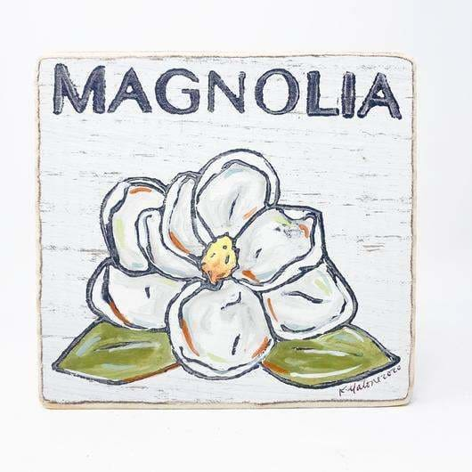 Magnolia Wood Sign