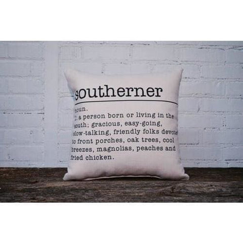 Meaning Of A Southerner Pillow - Pillow