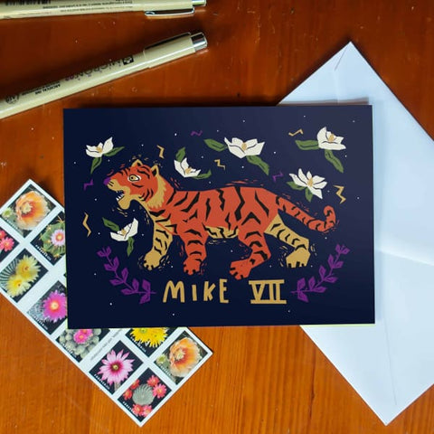 Mike VII Greeting Card