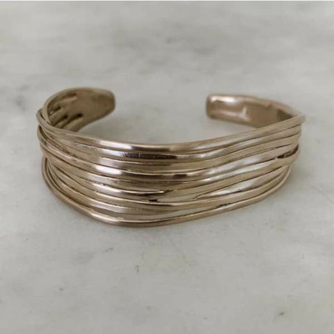 Mimosa Handcrafted Loblolly Pine Needle Cuff Bracelet