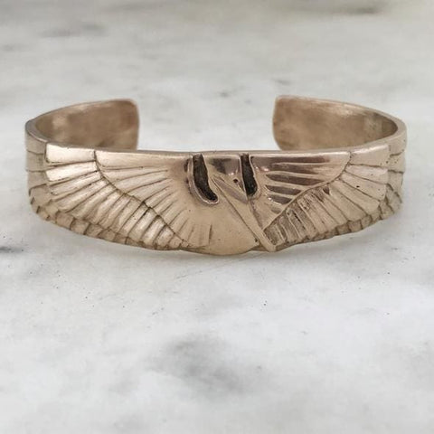 Mimosa Handcrafted Petite Pelican Cuff