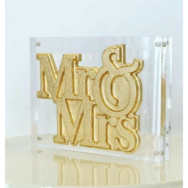 Mr. & Mrs. Acrylic Art