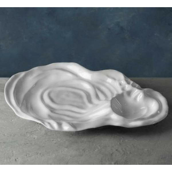 Oyster Melamine Chip and Dip Platter