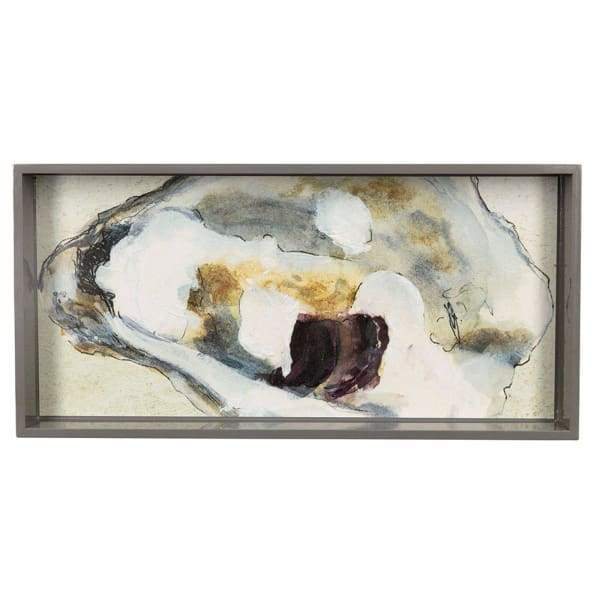 Oyster Shell 10 x 20 Art Tray