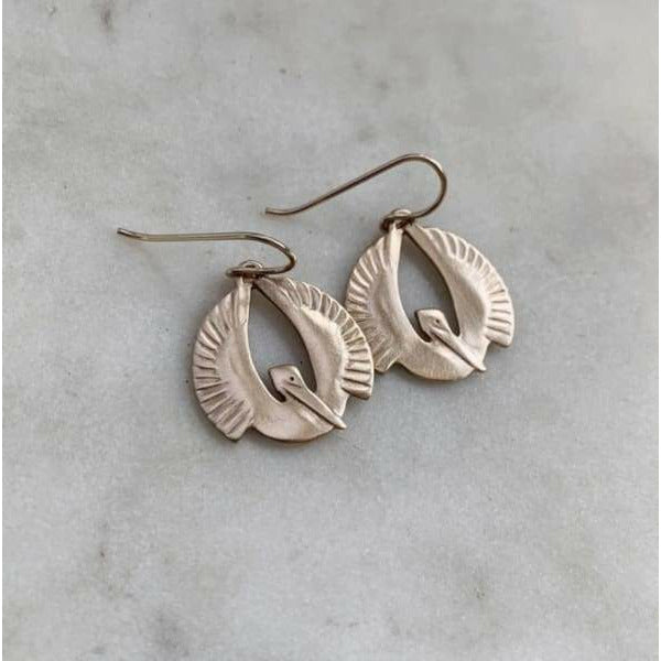 Pelican Earrings (small)