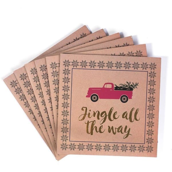 Placemats-Jingle All The Way