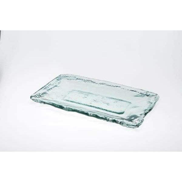 Recycled Glass Serving Platter