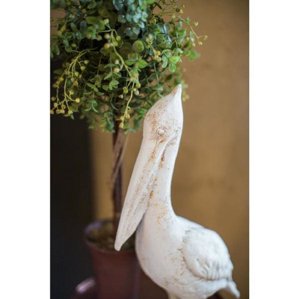 Resin Rustic Pelican - Home Decor