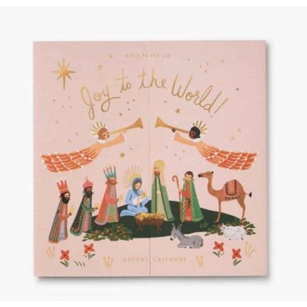 Rifle Paper Co. Joy To The World Advent Calendar
