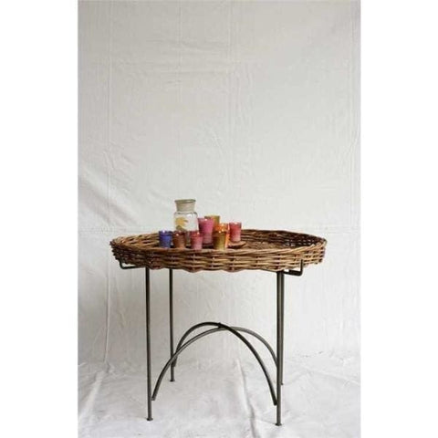 Round Aurog Tray Table - Home Decor