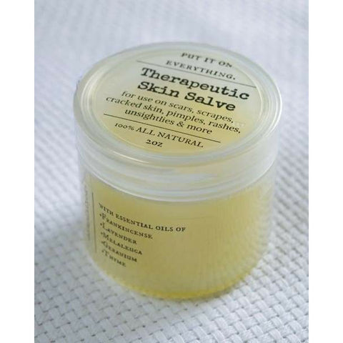 Simplified Therapeutic Skin Salve