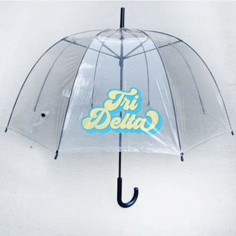 Sorority Clear Umbrella