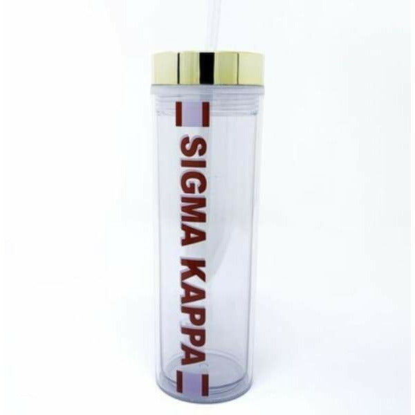 Sorority Water Bottle - Sigma Kappa