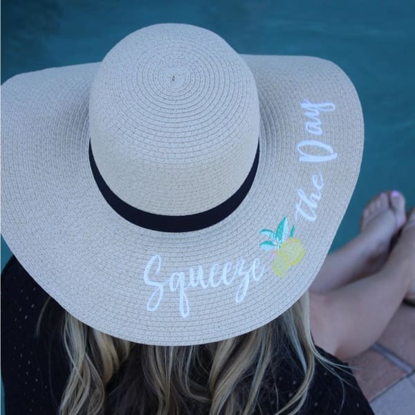 Squeeze The Day Sun Hat
