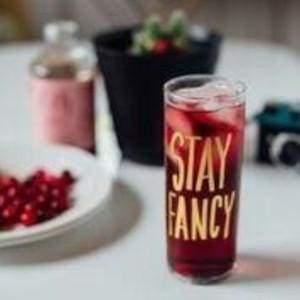 Stay Fancy Cocktail Glass - glassware