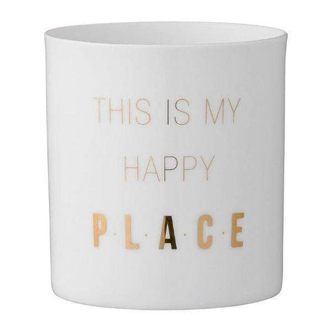 This Is My Happy Place Votive Holder