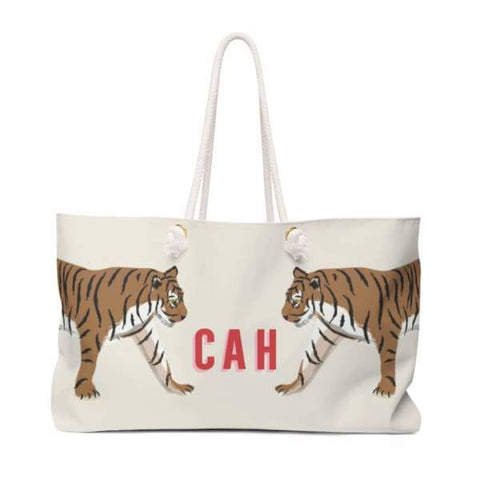 Travel Tote - Tiger