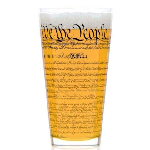US Constitution Pint Glass