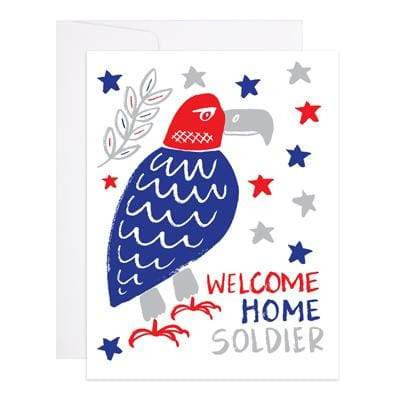 Welcome Home Soldier Card