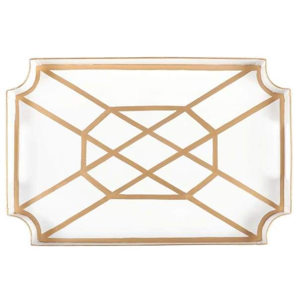Jaye's Studio - White & Gold - Don't Fret Jaye Tray - default
