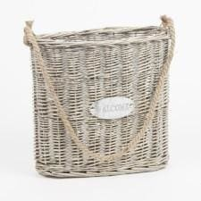Wicker Welcome Basket - Home Decor