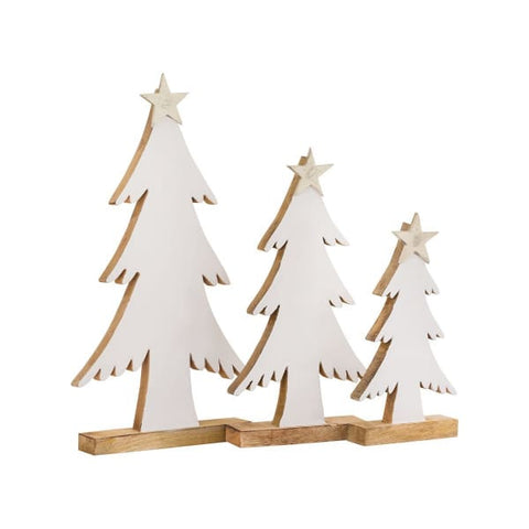 Winter White Trees (set of 3)
