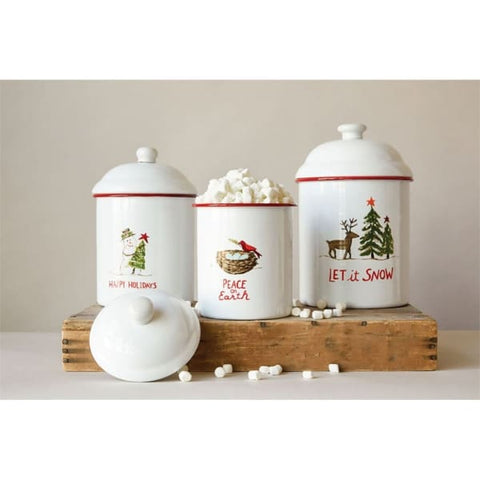 Winter Wonderland Canister Set