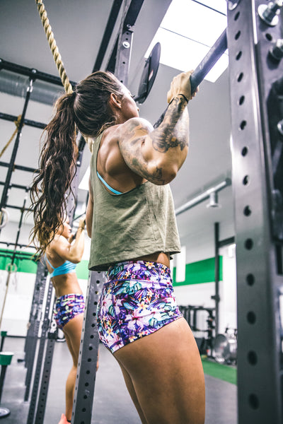 KFT Military Green Racerback Crop