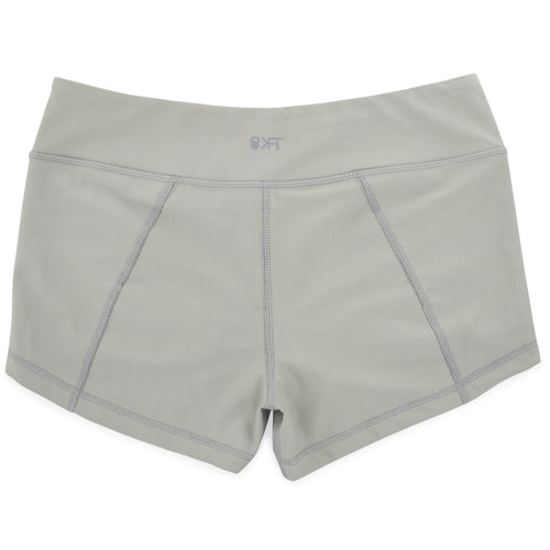 Get Going 2.5 Lined Shorts- Kitten Grey