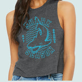 Shark Season Racerback Crop