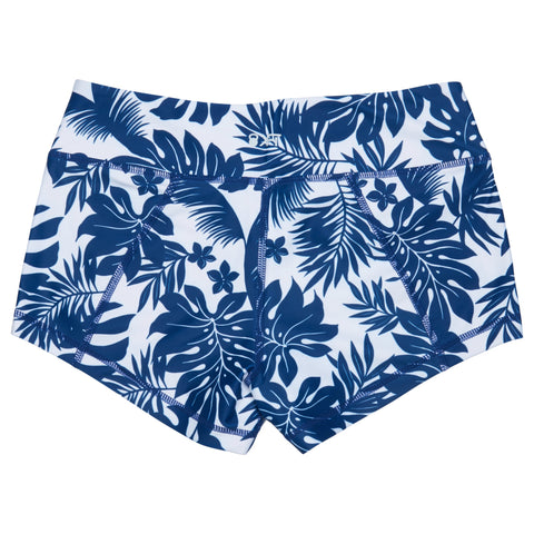 Get Going Shorts- Blue Hawaii