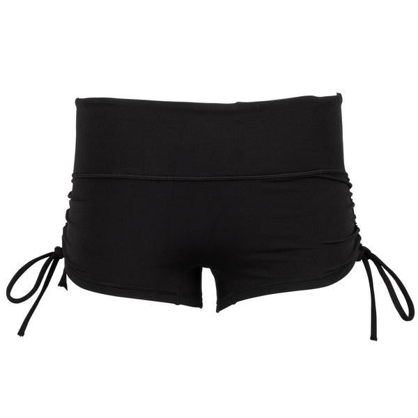Go with the Flow Shorts- Black