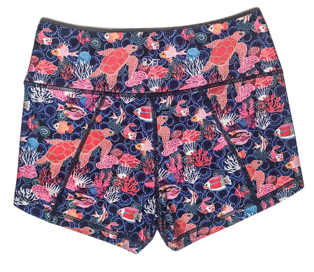 Keep Moving Lined Shorts- Brightest Pink