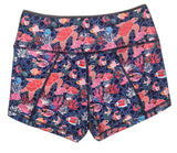 Get Going 2.5 Hi-Rise Lined Shorts- Tremendous Turtles