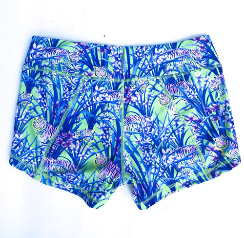 Get Going 2.5 Lined Shorts- Neon Tiger