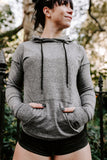 Perform Hoodie- Heathered Grey