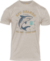 KFT Men's Shark T-Shirt-Sand