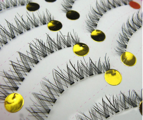 10 Pairs/Box Seamless Criss Cross False Eyelashes #HS-18 # 14094
