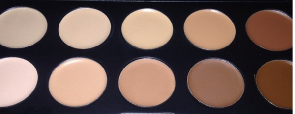 10 Colors Contour Concealer - Professional Cream Foundation - FG10 # 3701