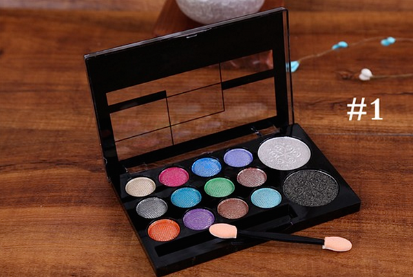14 Colors Eyeshadow Palette # 23577